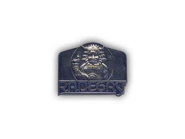 Kovový odznak odlévaný Radegast – staronikl
