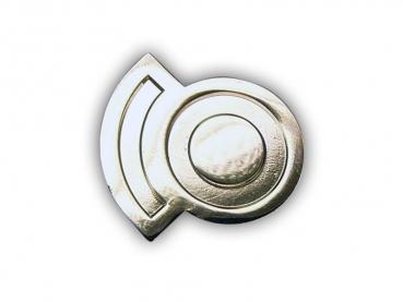 Kovový odznak odlévaný – nikl