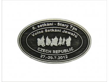 odznak Setkání Jawařů - starozinek