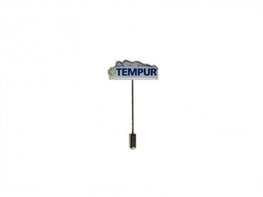 odznak s potiskem tempur