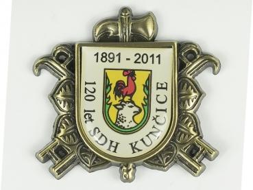 odznak sdh kunčice