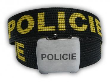 Výroba textilních opasků – Policie