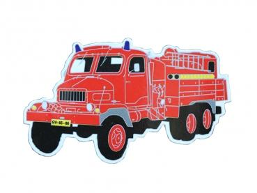 praga v3s hasiči