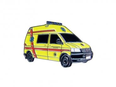 kovový odznak barvený VW Záchranáři
